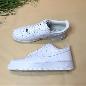 NEW Men's White Air Force 1 '07 - Size 13